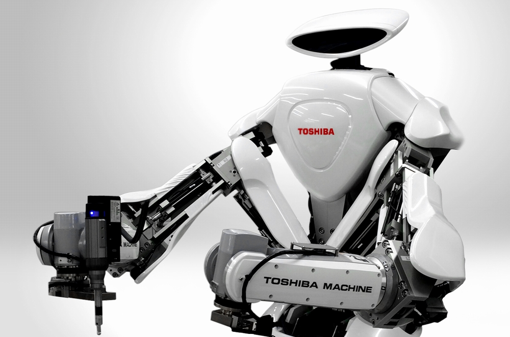 Arm in Arm: Toshiba's New Robot and Coexistence with People