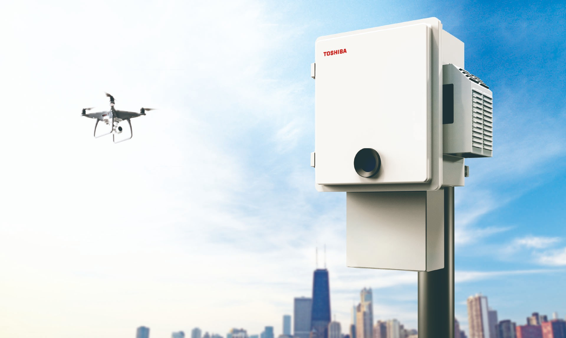 Defying the Drone Threat: What Sets Toshiba's Drone Detection System Apart?