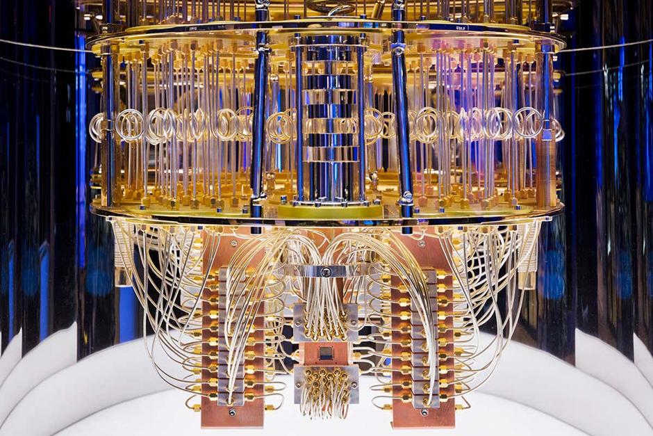 Image of a super computer