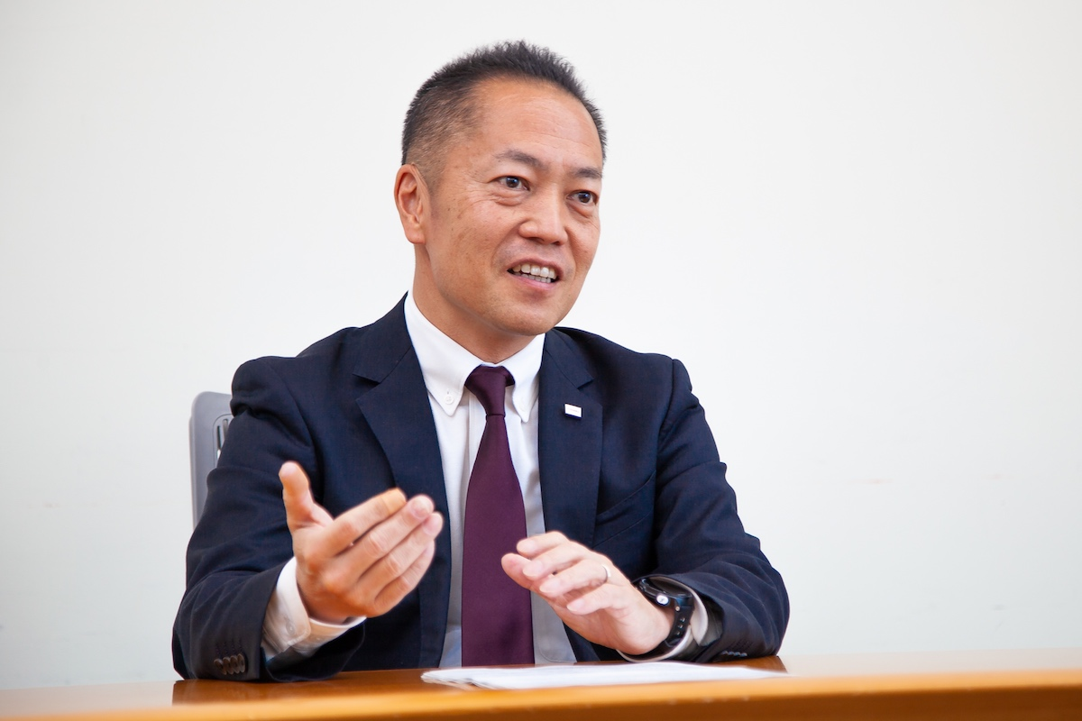 Takashi Amano, General Manager, Cyber Security Center, Toshiba Corporation