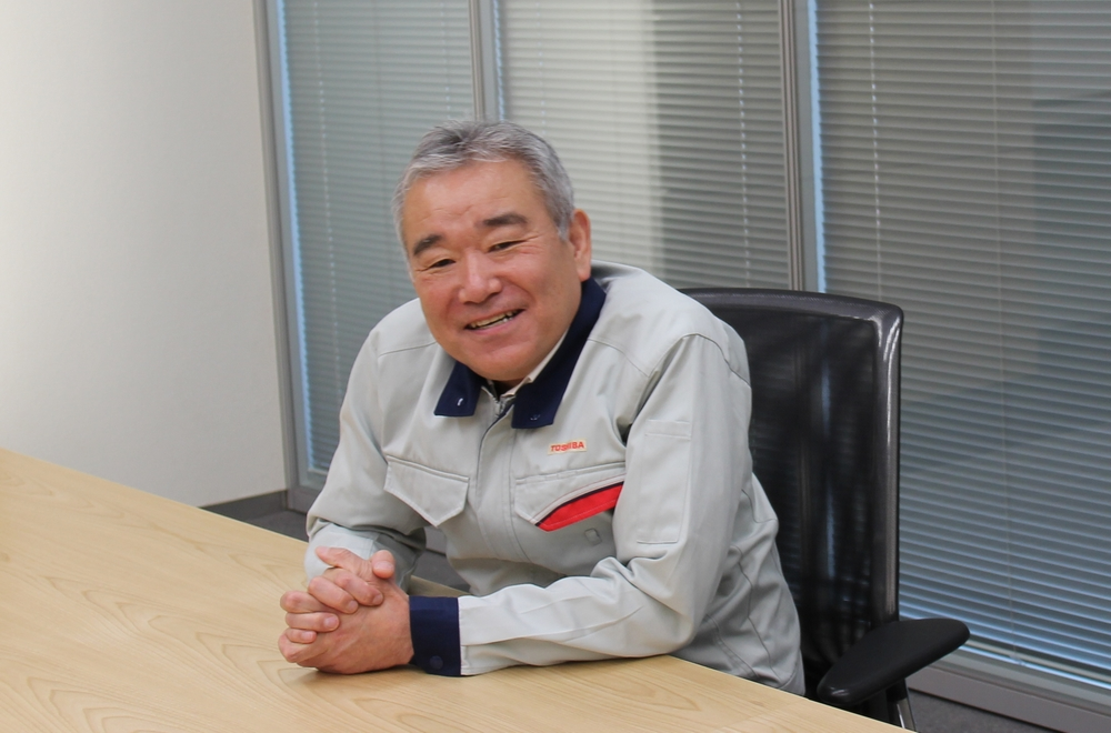 Yukihiro Sumiyoshi, Nuclear Energy & Machinery Equipment Dept. Keihin Product Operations, Toshiba Energy Systems & Solutions Corporation (title at the time of the interview)