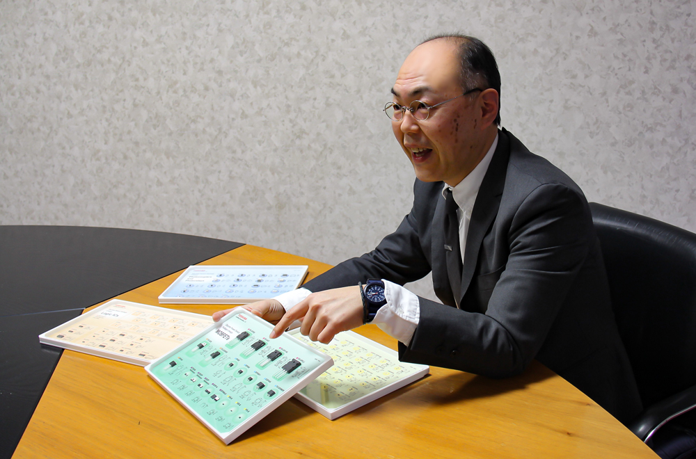Akihiro Kawano, Discrete Semiconductor Division, Toshiba Electronic Devices & Storage Corporation