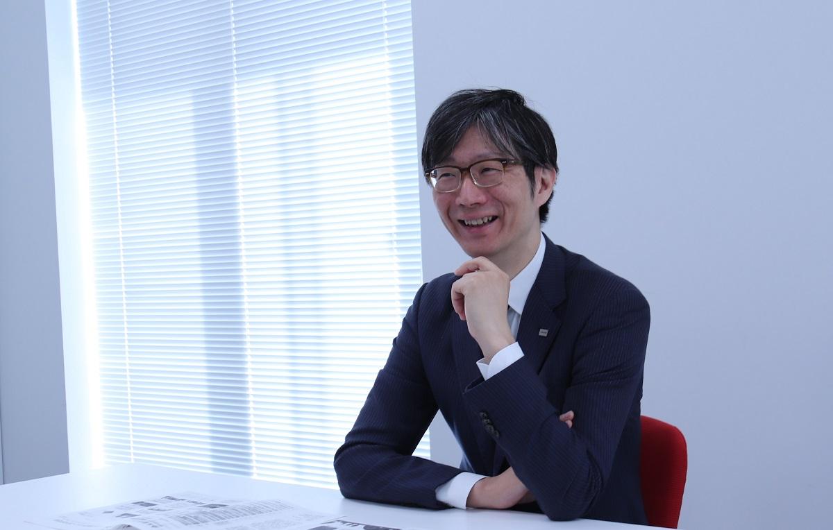 Taro Shimada CDO of Toshiba Corporation