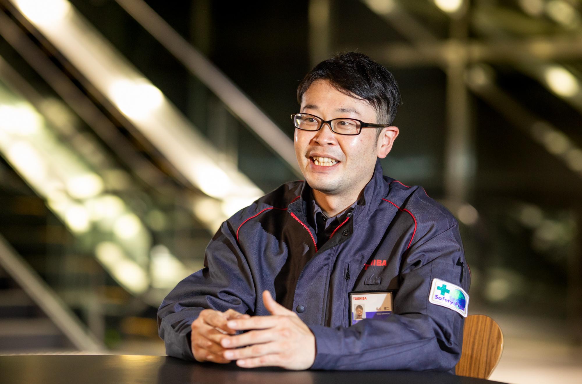Kenji Umemura, Field Engineer, Toshiba Elevator and Building Systems Corporation(1)