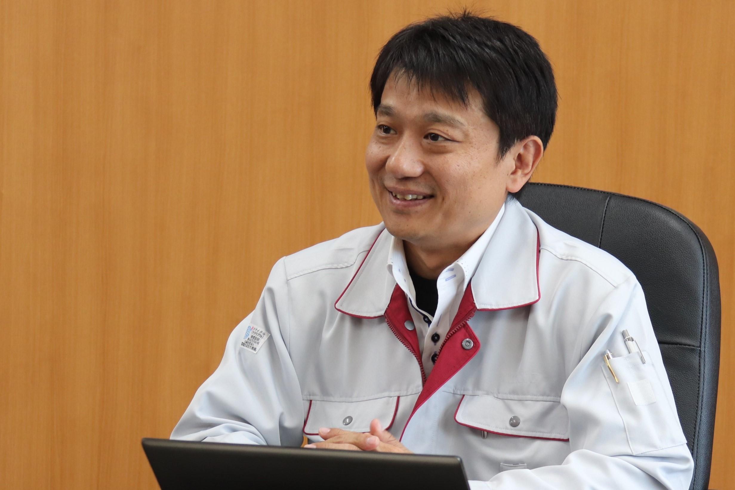 Yuichi Okazaki, Oita Operations Manufacturing Department, Japan Semiconductor Corporation