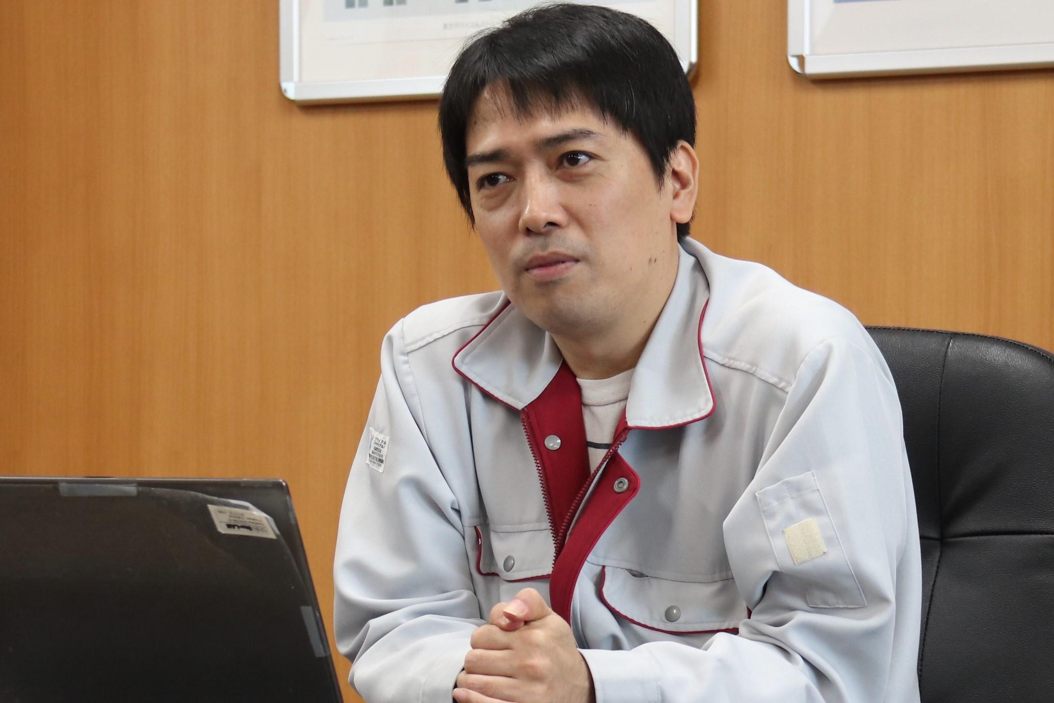 Tomoyuki Hada, Oita Operations Manufacturing Department, Japan Semiconductor Corporation