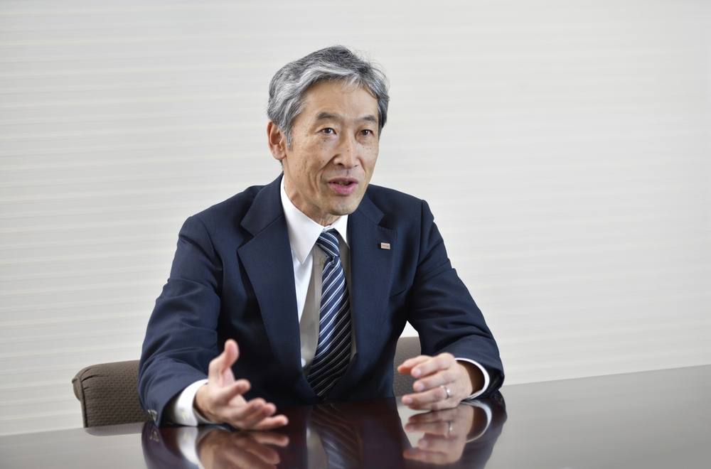 Dr. Shiro Saito, Toshiba's Chief Technology Officer