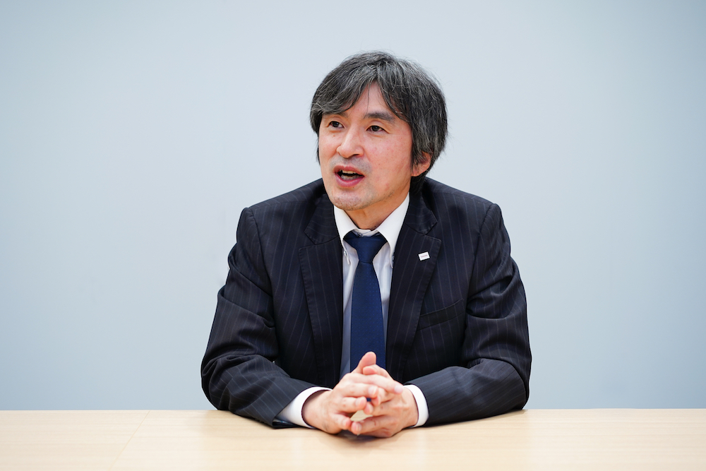 Inoue Masaru, General Manager,Cyber Physical System Department,Toshiba Lighting & Technology Corporation