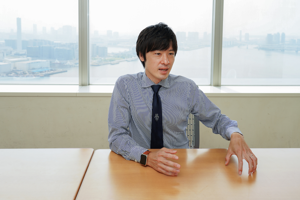 Taihei Yamaguchi, Specialist in the Life Science Promotion Office, Corporate Technology Planning Division, Toshiba Corporation