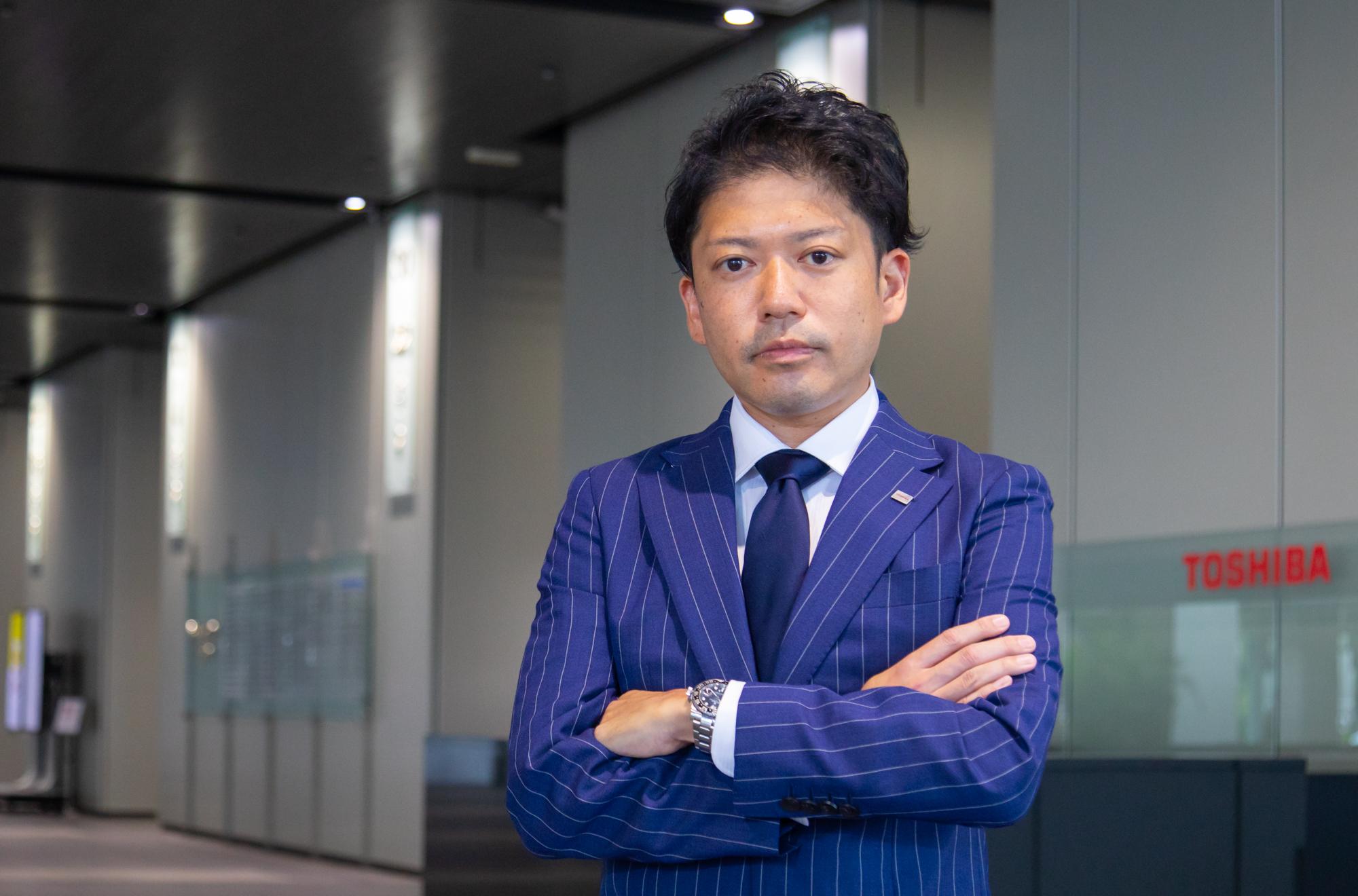 Yuhei Katayama, Semiconductor Sales Center Focus Account Dept. Group I, Toshiba Electronic Devices & Storage Corporation3