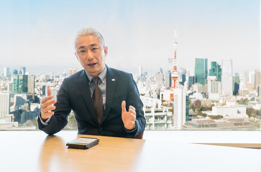 Masafumi Fujimori, Storage Products Div., Toshiba Electronic Devices & Storage Corporation