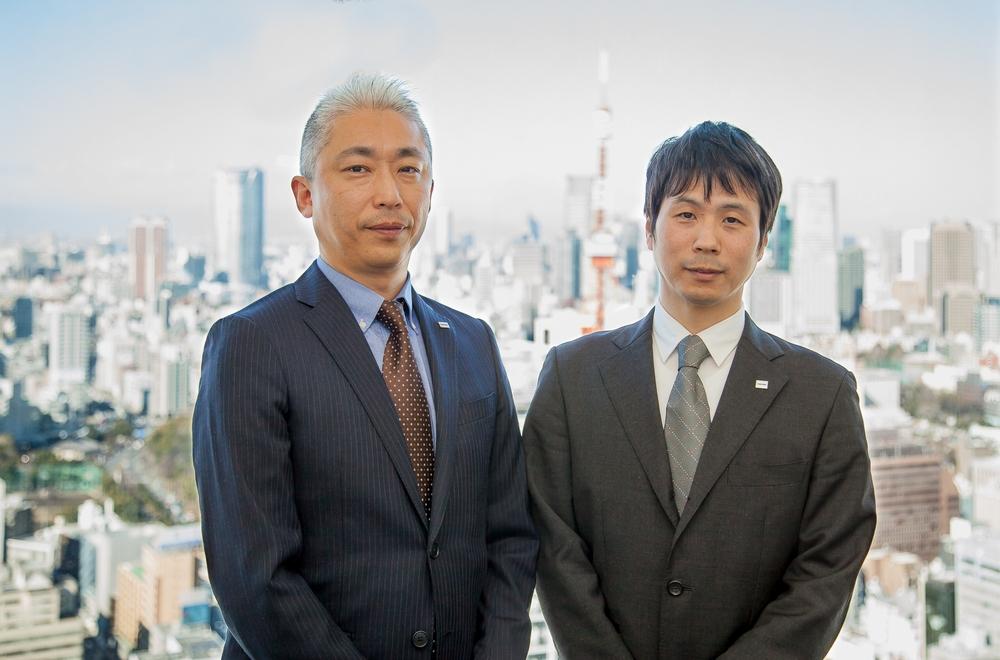 Mr. Fujimori and Mr.Sato