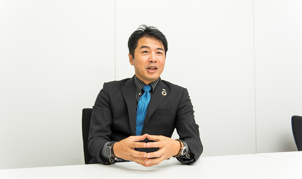 Josh Kataoka, the Senior Manager of our Digital Innovation Technology Center