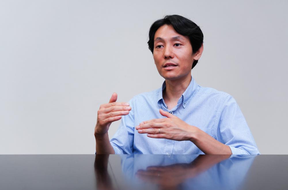 Hayato Goto, Senior Research Scientist, Frontier Research Laboratory, Corporate Research & Development Center, Toshiba Corporation