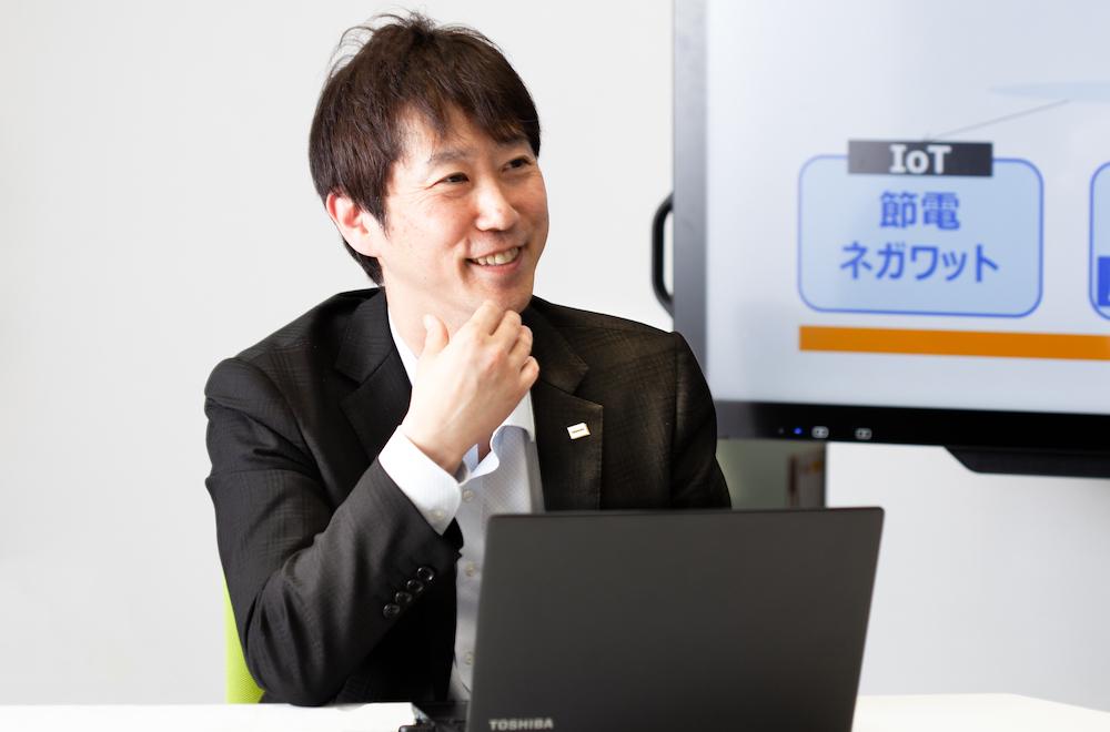Hideki Shingai, General Manager, Energy IoT Dept., Grid Aggregation Div., Toshiba Energy Systems & Solutions Corporation