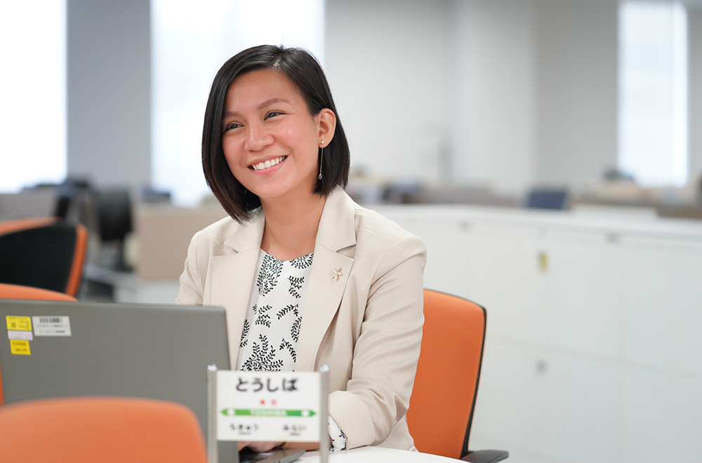 Maria Regina Ildesa, Global Railway Systems Engineering Department, Railway Systems Division, Toshiba Infrastructure Systems & Solutions Corporation(2)