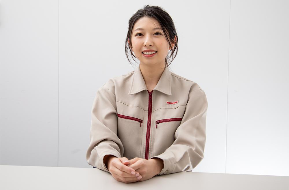 Natsuki Nakamura, Cell Development 2nd Section, Cell Development Division, Battery Division, Toshiba Corporation