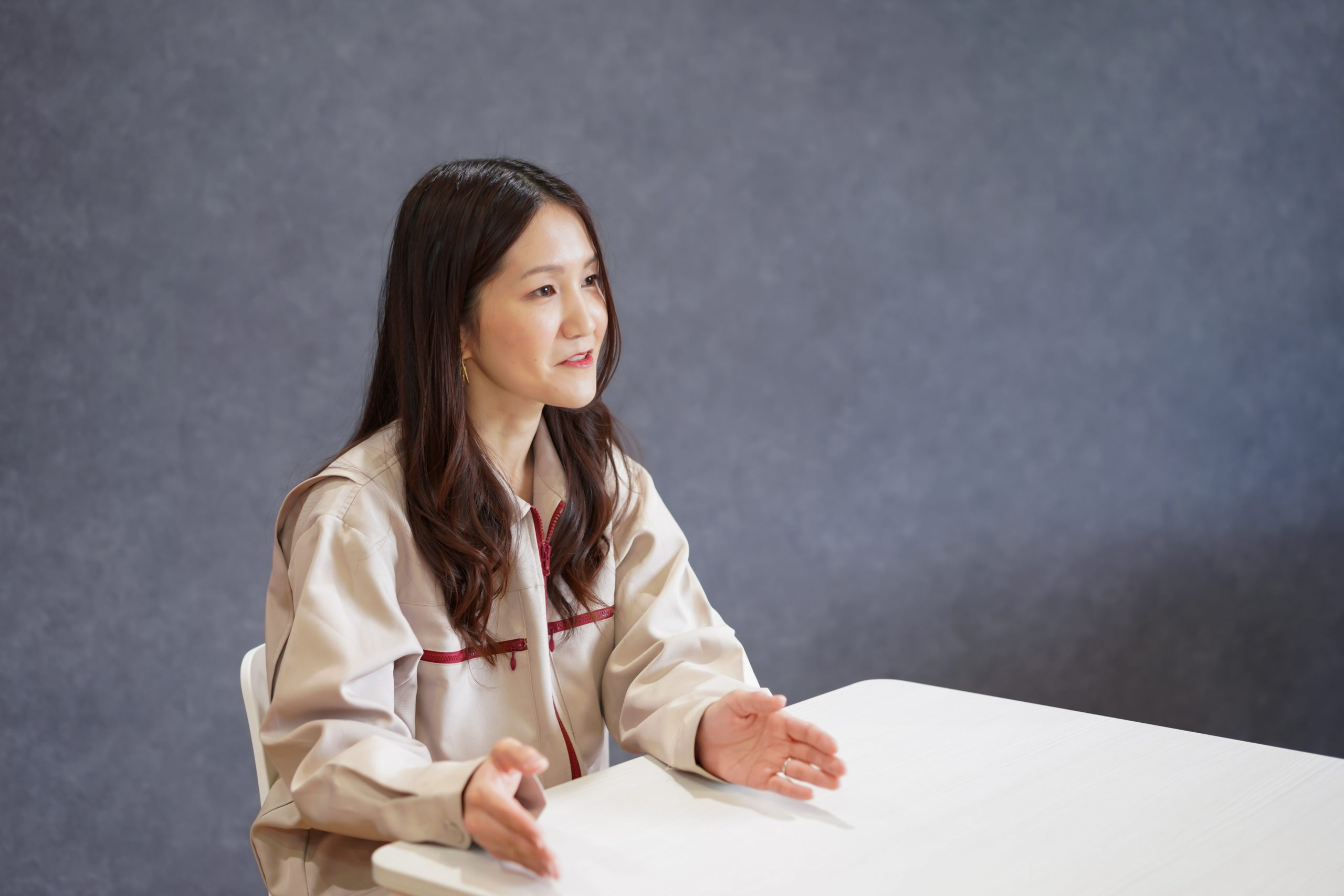Image of Ide during the interview 2