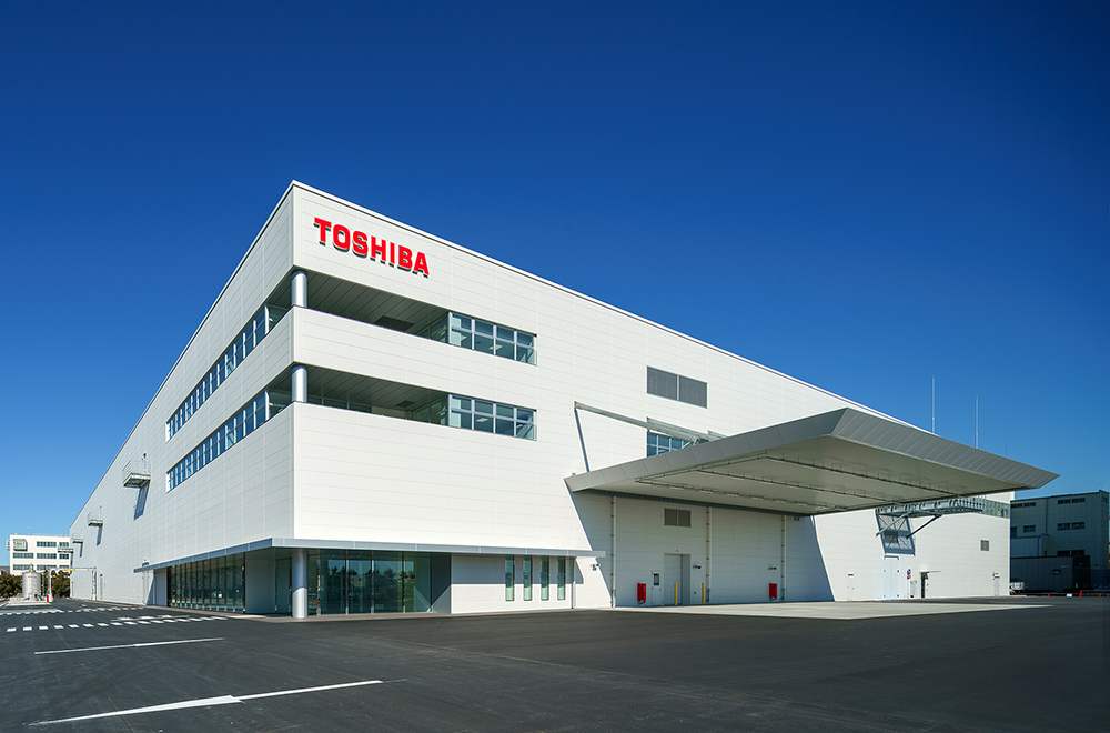 The new SCiB™ facility at Toshiba's Yokohama Complex, completed in January 2021