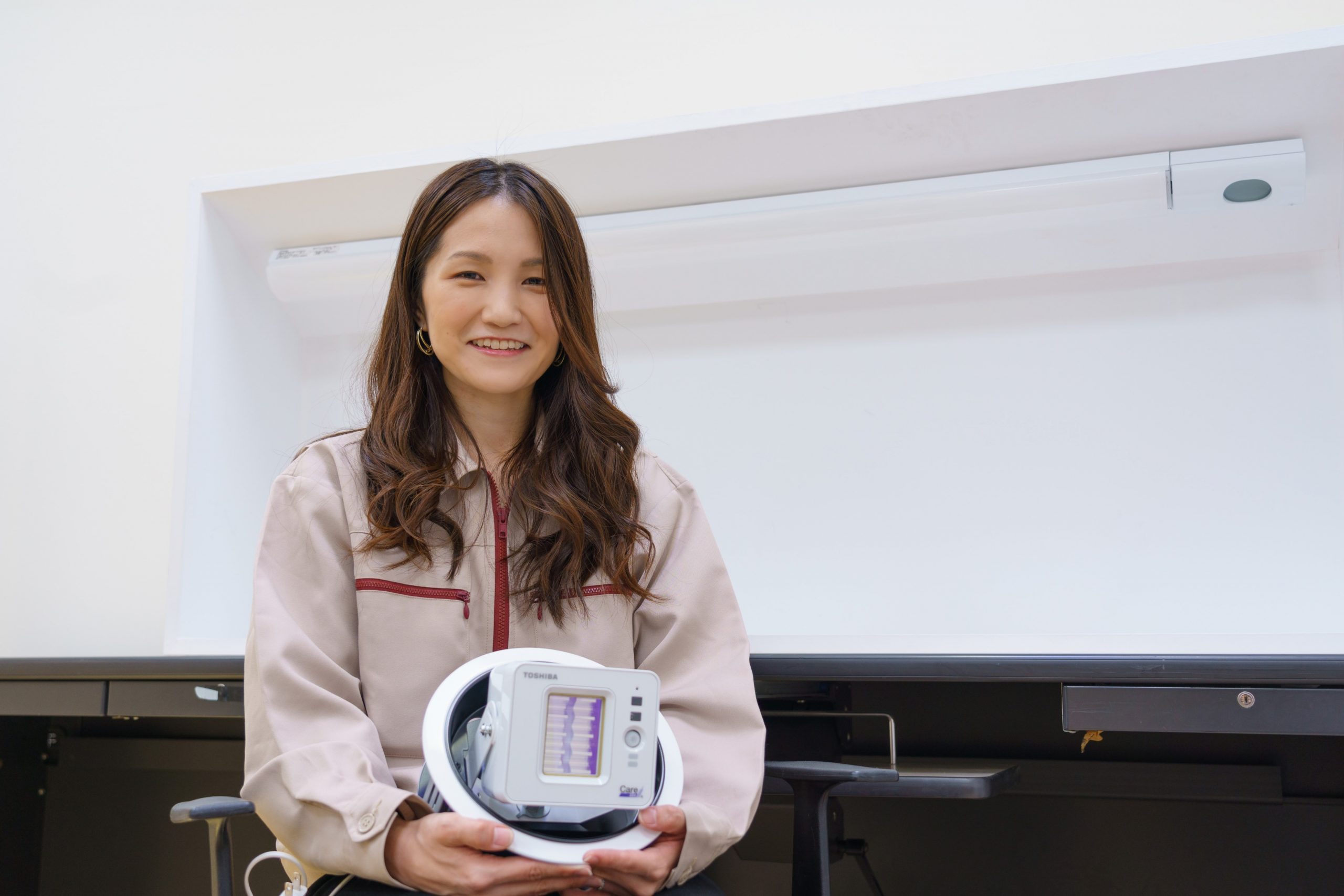 Nagisa Ide, UVL CPS Promotion Department, Toshiba Lighting & Technology Corporation