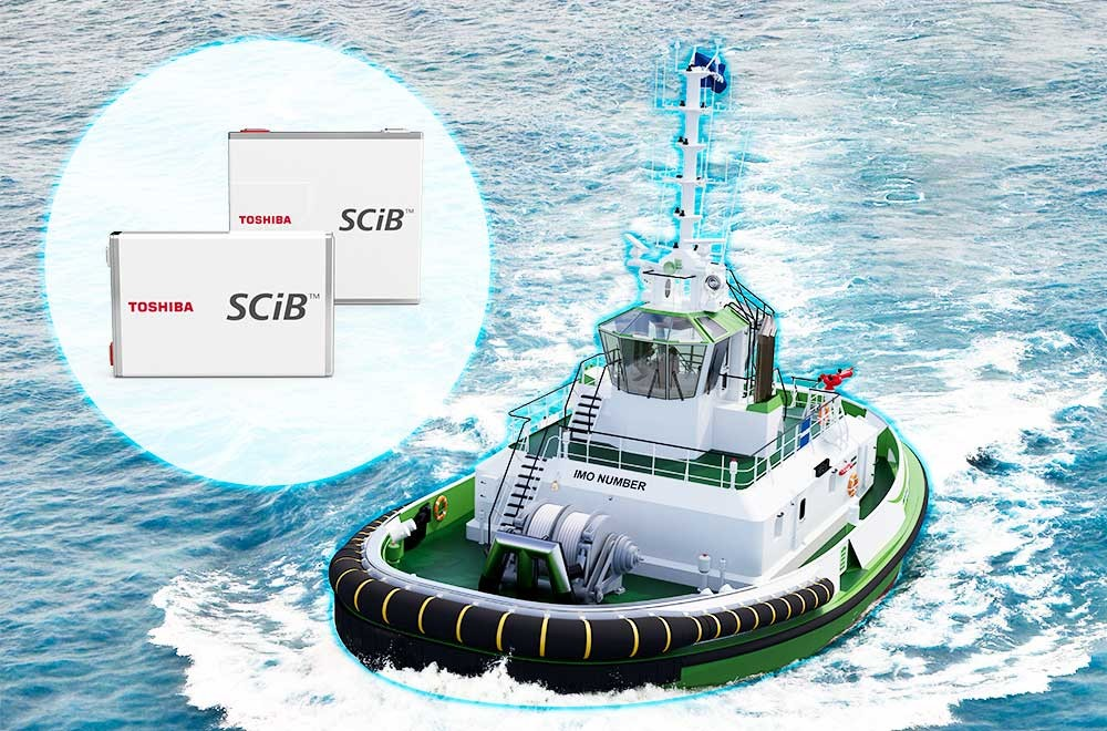 Powering the future of sustainable shipping with Damen Shipyards and Echandia Marine