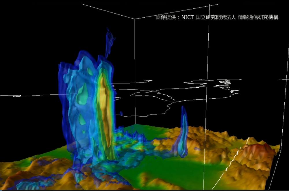 ゲリラ豪雨を予測可能に 進化するフェーズドアレイ気象レーダ