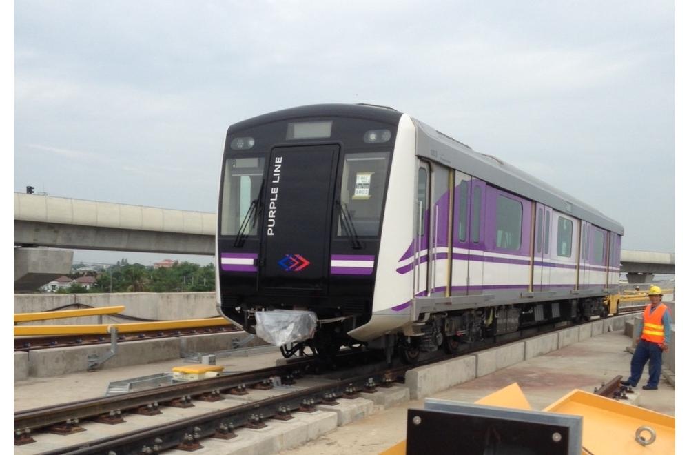 バンコクの交通に革命を 新鉄道パープルラインの開通へ
