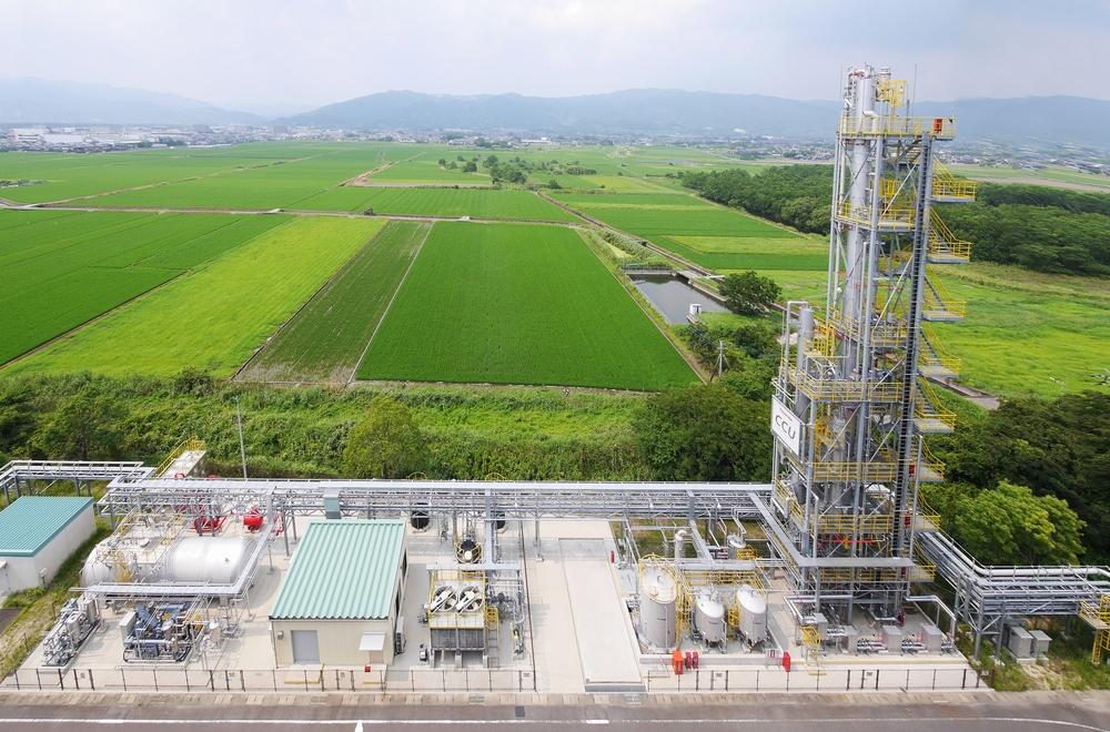 佐賀市発で世界初 最先端のCO2分離回収プラント