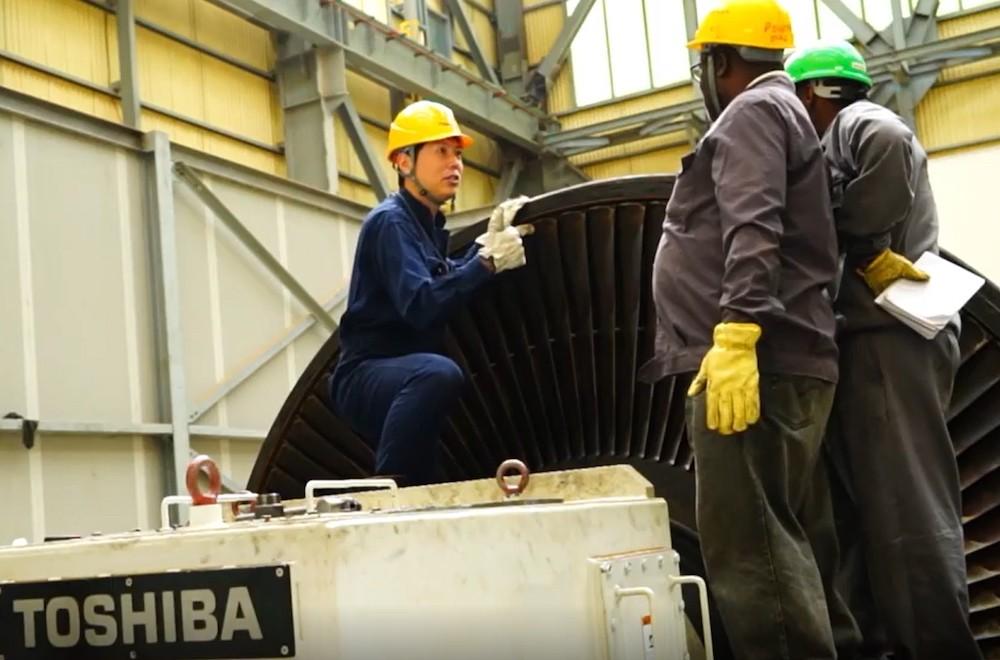 東芝がソリューション提案する アフリカのエネルギー