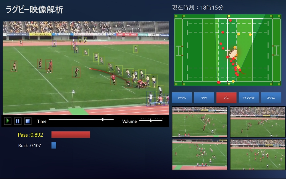 スポーツ映像アナリティクスの最前線 ディープラーニング×画像認識技術の可能性