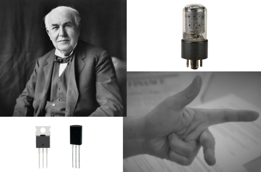 半導体って何だろう? エジソン、フレミングの真空管の系譜