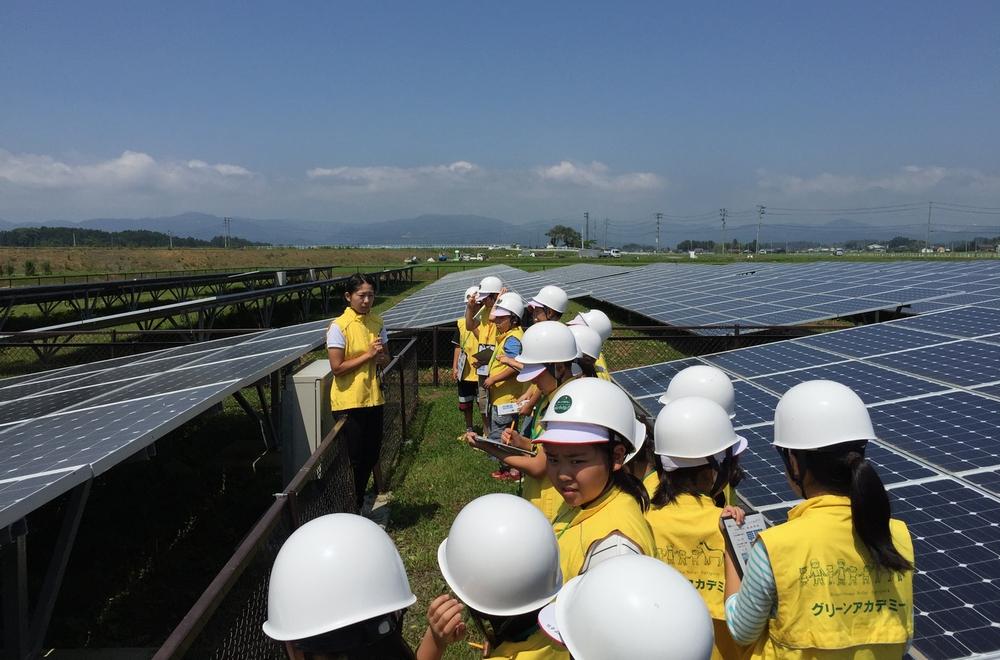 元東電社員の奮戦 太陽光発電がけん引する、被災地の再生