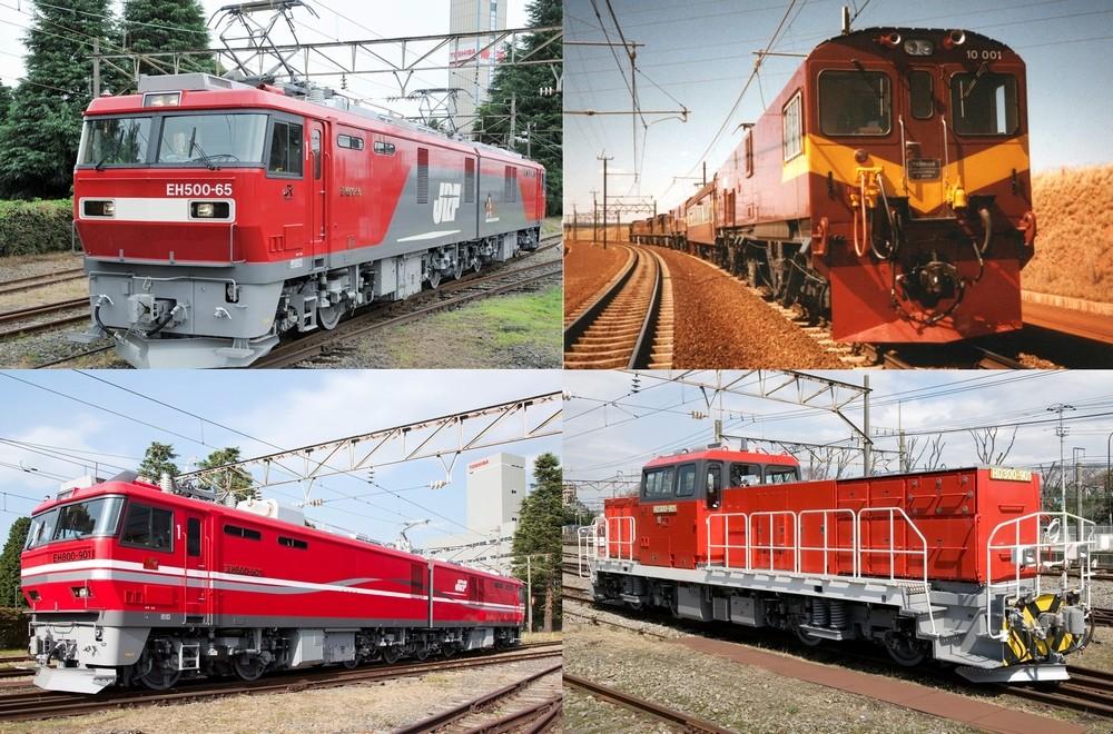 日本から世界へ、過去から未来へ 東芝の電気機関車が描く軌道