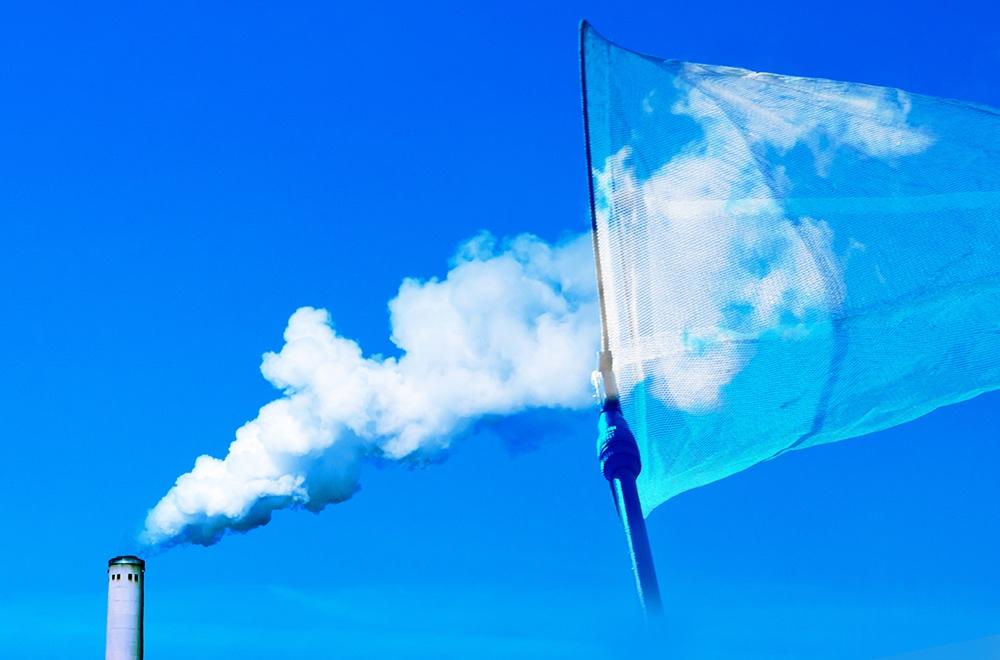 CO₂(二酸化炭素)は回収して 大気への放出を防ごう