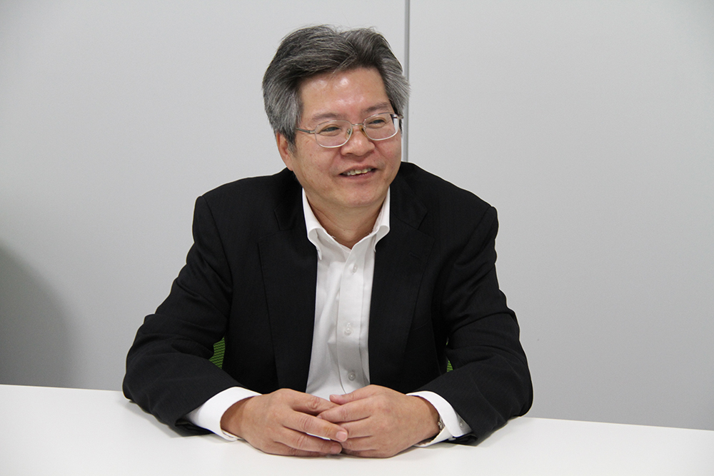 東芝 エネルギーシステムソリューション社 電力流通システム事業部技監 中村正氏