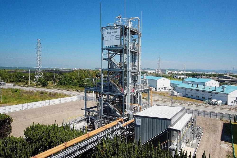 三川 CO2分離回収パイロットプラント