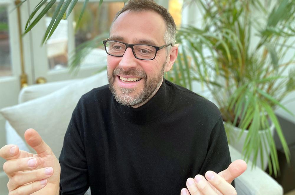 欧州地域のブランディングを担当するマット・マクドウェル氏