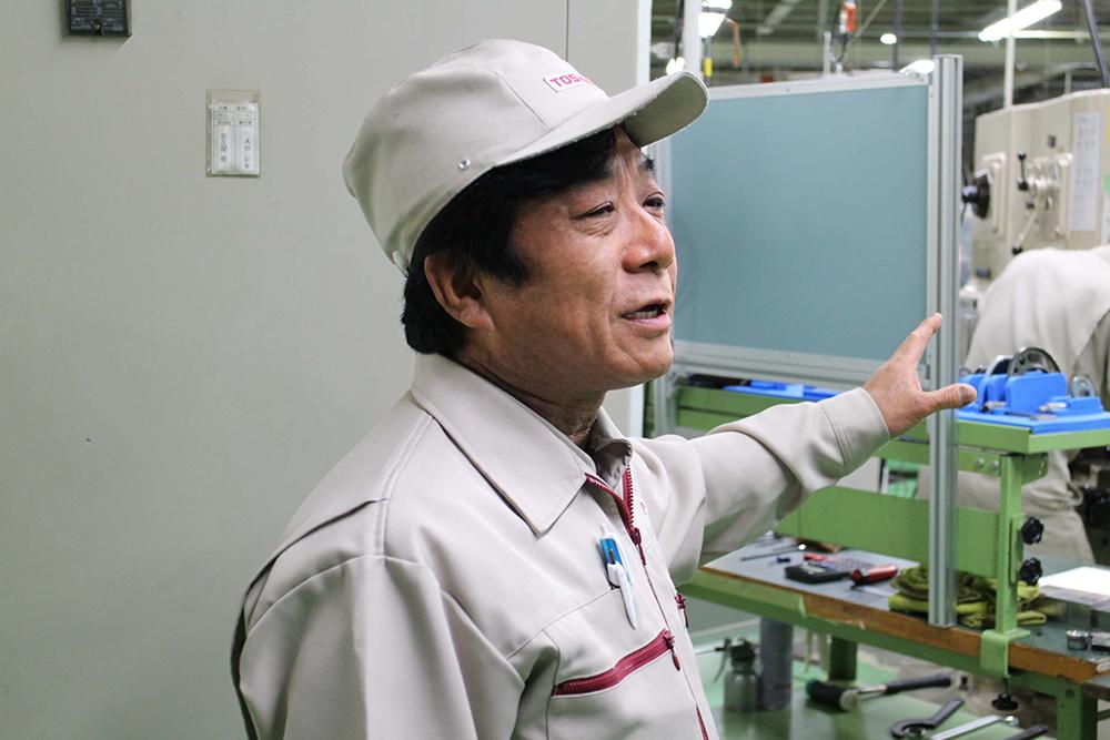 生産技術センター メカトロソリューション推進部 製造課 技能主査 葉山憲二氏