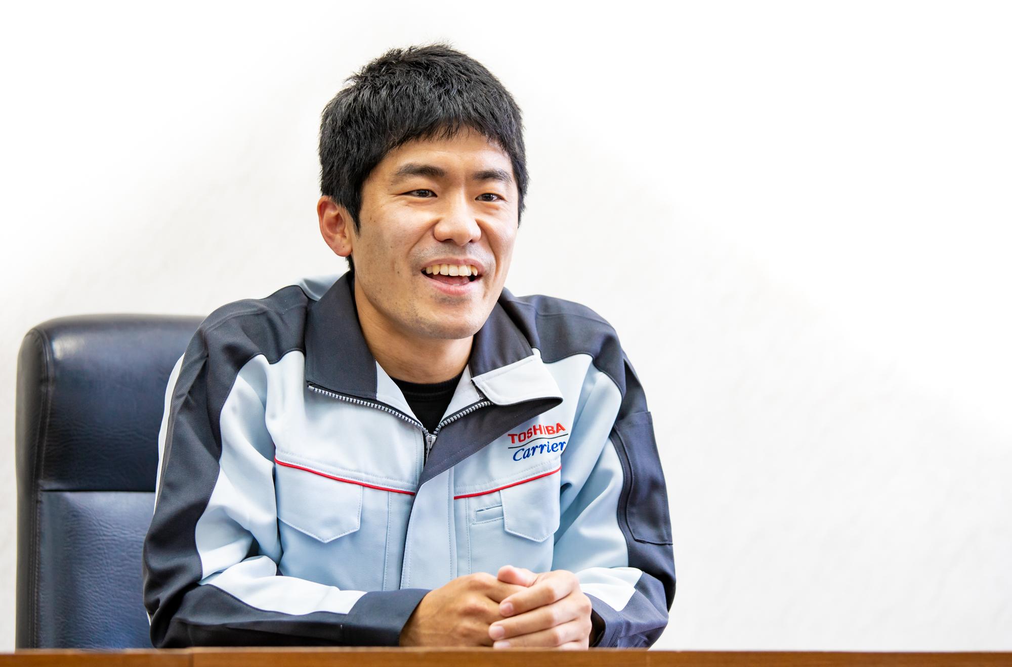 東芝キヤリア株式会社 生産統括部 富士製造部 コンプレッサー部品課 村瀬 真人氏(1)