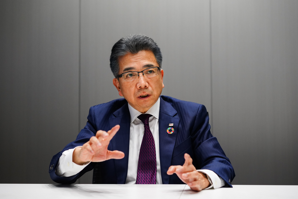 株式会社東芝 執行役専務 錦織 弘信氏