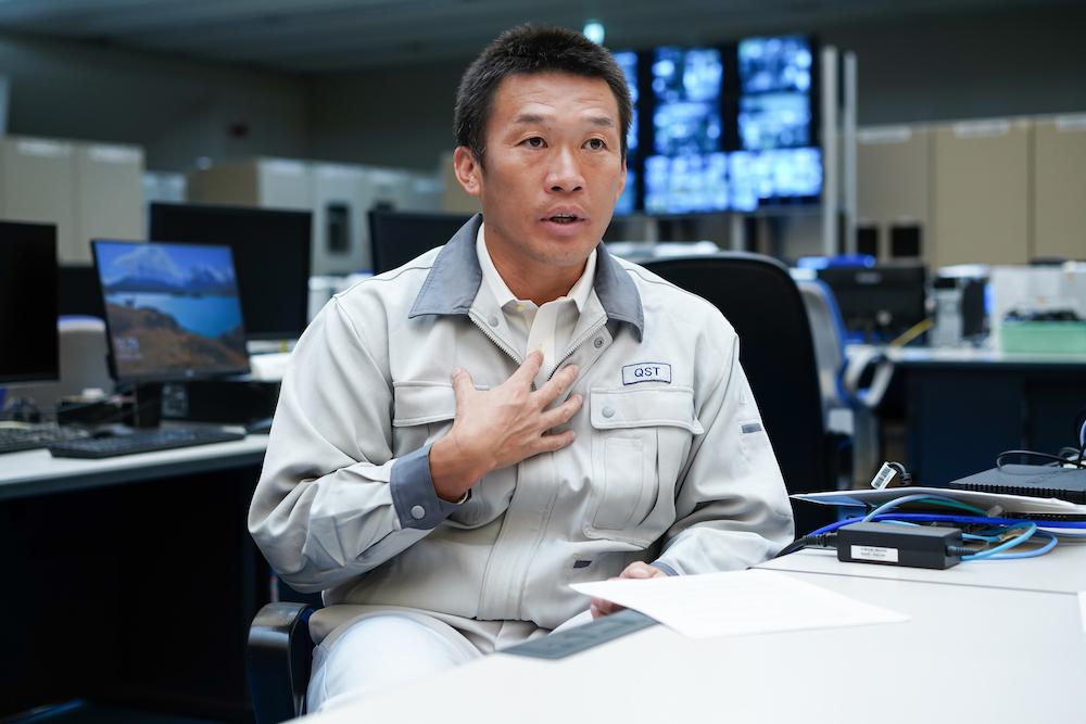 量子科学技術研究開発機構 那珂核融合研究所 トカマクシステム技術開発部 JT-60本体開発グループ 上席研究員 芝間 祐介氏