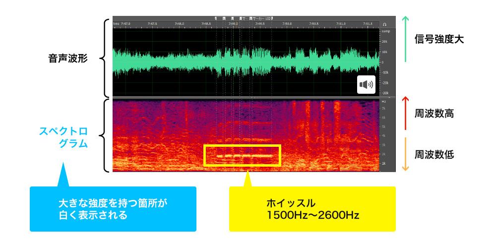 ホイッスル音を検知して映像を自動分割
