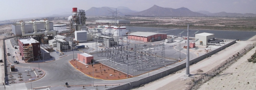 サルティージョ火力発電所全景
