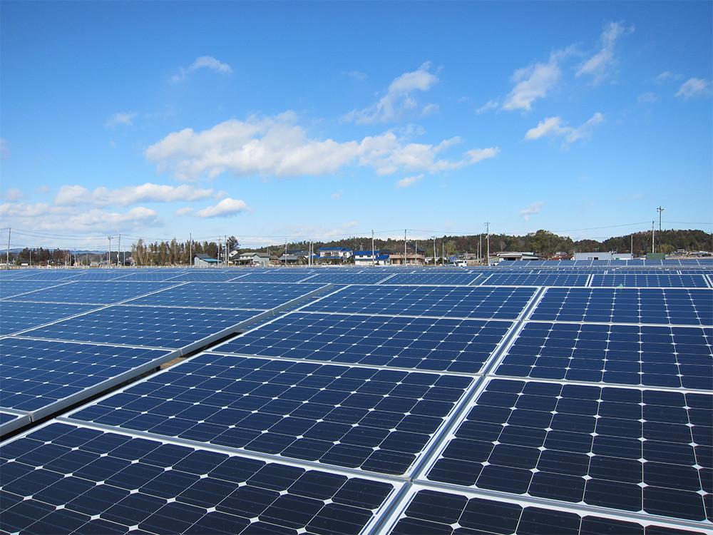 南相馬ソーラー・アグリパーク 太陽光発電所