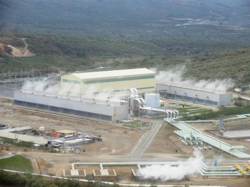 ケニア オルカリア 地熱発電