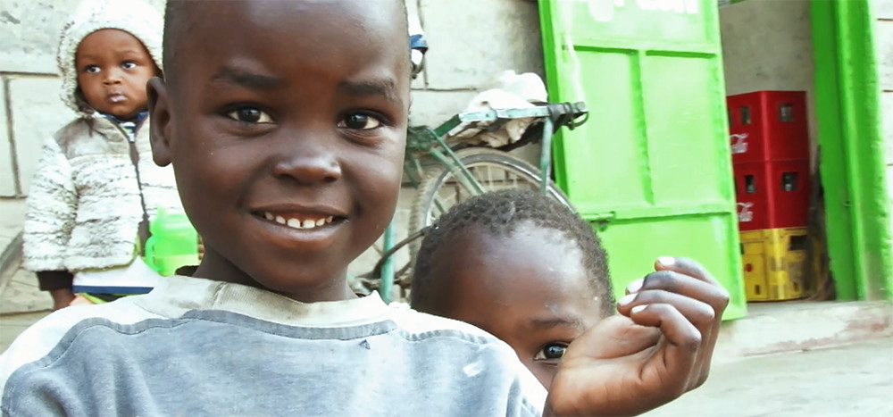 ケニア オルカリアの子供たち