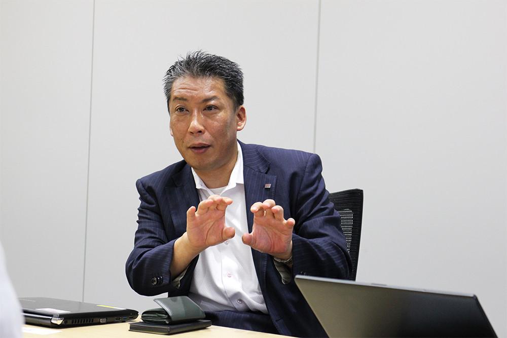 ソリューション営業部 加藤富生氏
