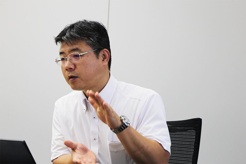 営業技術部 立石章夫氏