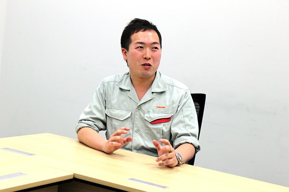 東芝 京浜事業所 機器装置部 根塚氏