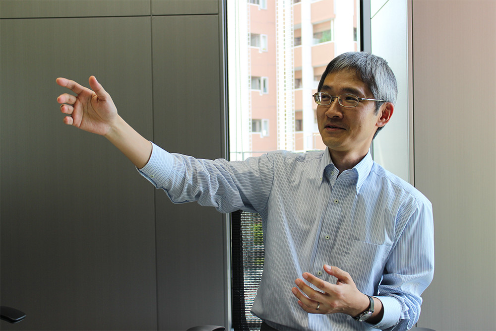 声デザインの生みの親である鈴木優氏。東芝 インダストリICTソリューション社で商品企画を担当している。